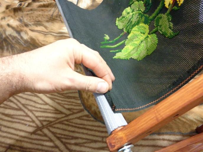 Как правильно натянуть вышивку из бисера 48