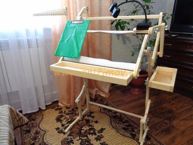 Изготовление станка для вышивания своими руками